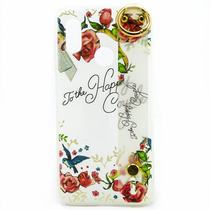 Силиконовый чехол накладка Epik Flowers для Xiaomi Mi 8