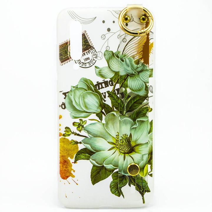 Силиконовый чехол накладка Epik Flowers для Xiaomi Mi 9