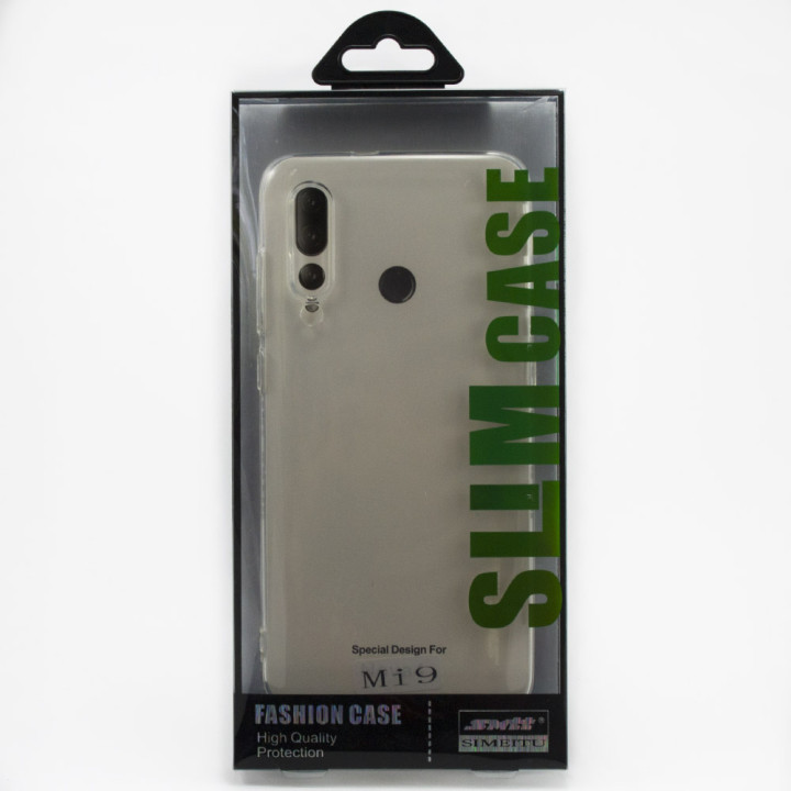 Захисний чохол SMTT Simeitu для Xiaomi Mi 9 (Прозорий)