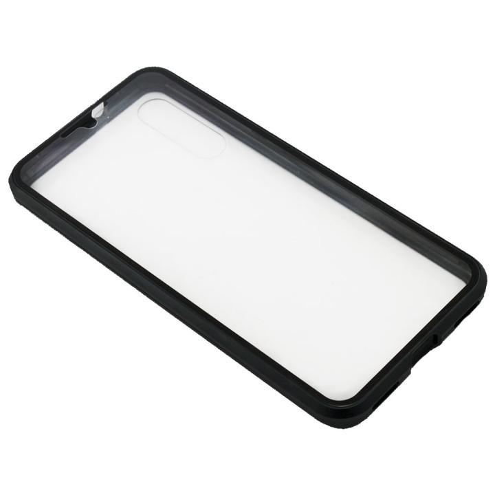 Накладка бампер магніт Bakeey Metal Frame 360° для Xiaomi Mi CC9e/ Mi A3, Black