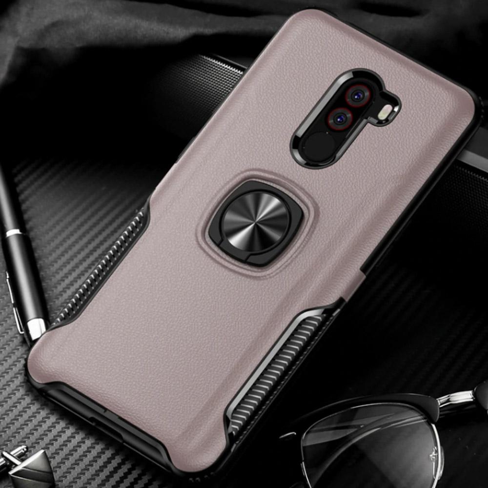 Чохол Rico Armor Ring Case для Xiaomi Pocophone F1 розовий