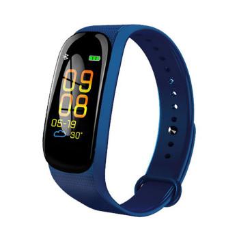 Розумний годинник, Фітнес браслет трекер Smart Band М5 Blue