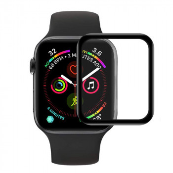 Захисна плівка 3D Full Glue Tempered Glass для Apple Watch 42mm, Black