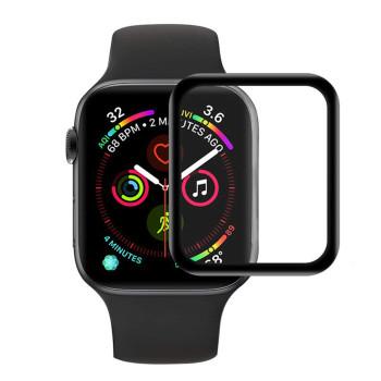 Захисна плівка 3D Flexible Tempered Glass для Apple Watch 44mm, Black