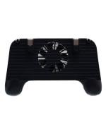 Беспроводной геймпад Lesko Cooling F1 2000mAh с вентилятором охлаждения для смартфона, Black