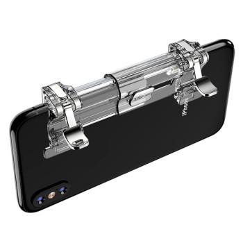 Ґеймпад триггер Lesko K8 для смартфона, Transparent