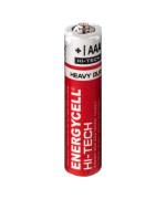 Батарейка Energycell HI-TECH АAА R03 солевая, Red