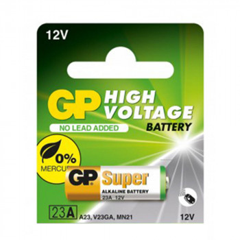 Батарейка GP Super Alkaline MN23 23A 12V, Green