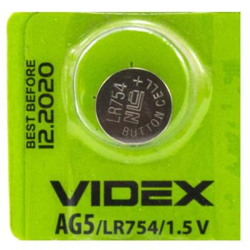 Батарейка Videx AG 5 LR754 1,5V Silver