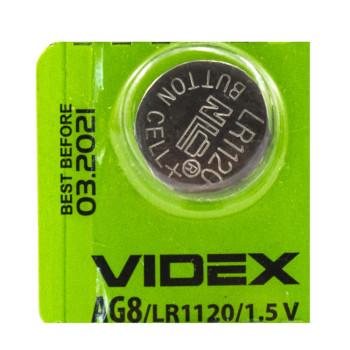 Батарейка Videx AG 8 LR1120 1,5V Silver