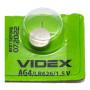 Батарейка Videx AG4 LR626 1.5V, Silver