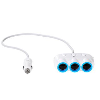 Автомобильное зарядное устройство, разветвитель Hoco C1, 2USB White