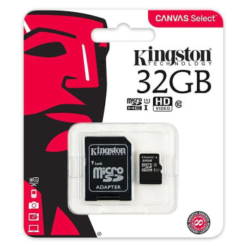 Карта памяти Kingston microSDHC 32GB Class10 Black