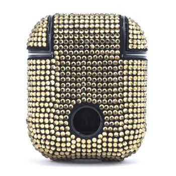 Чохол футляр Bling World Fashion для навушників Apple AirPods