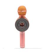 Микрофон-караоке беспроводной WSTER WS-668 Rose Gold