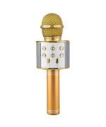 Микрофон-караоке беспроводной WSTER WS-858 Gold