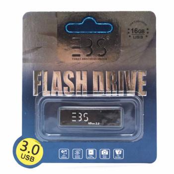 USB ФЛЕШКА Flash drive 3BS 16 GB USB 3.0 S Black