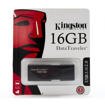 USB Флешка Kingstone DataTraveler 100G3 16Gb USB 3.0 / 2.0