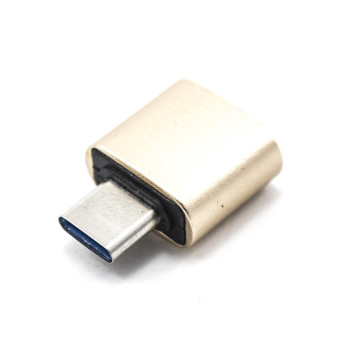 Переходник OTG C&Q Metal Short Type-C - USB