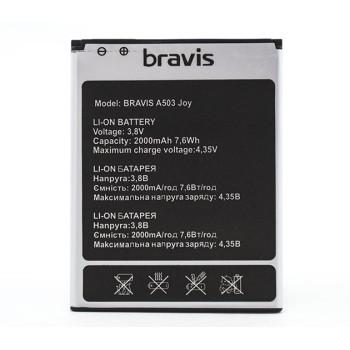 Акумулятор для Bravis A503 Joy  (ORIGINAL) 2000mAh