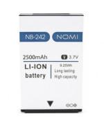 Акумулятор NB-242 для Nomi i242, 2500 мAh (ORIGINAL) 2500мAh