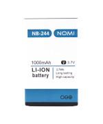 Аккумулятор NB-244 для Nomi i244, (ORIGINAL) 1000мAh