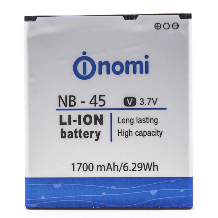 Аккумулятор NB-45 для Nomi i450, 1700 мAh (Original)