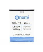 Аккумулятор для NB-53 для Nomi i502 Drive (Original) 2100мAh