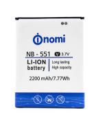 Аккумулятор NB-551 для Nomi i551(Original), 2200 mAh