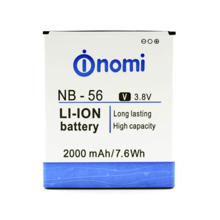 Аккумулятор NB-56 для Nomi i503 (Original) 2000мAh