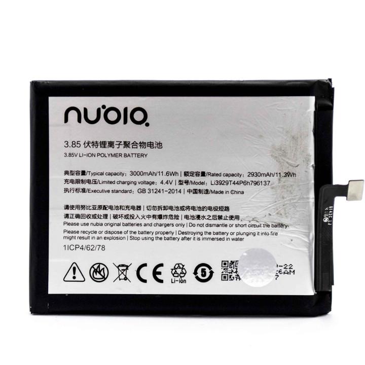 Аккумулятор Li3929T44P6h796137 для ZTE Nubia Z11 mini S (Original) 3000mAh