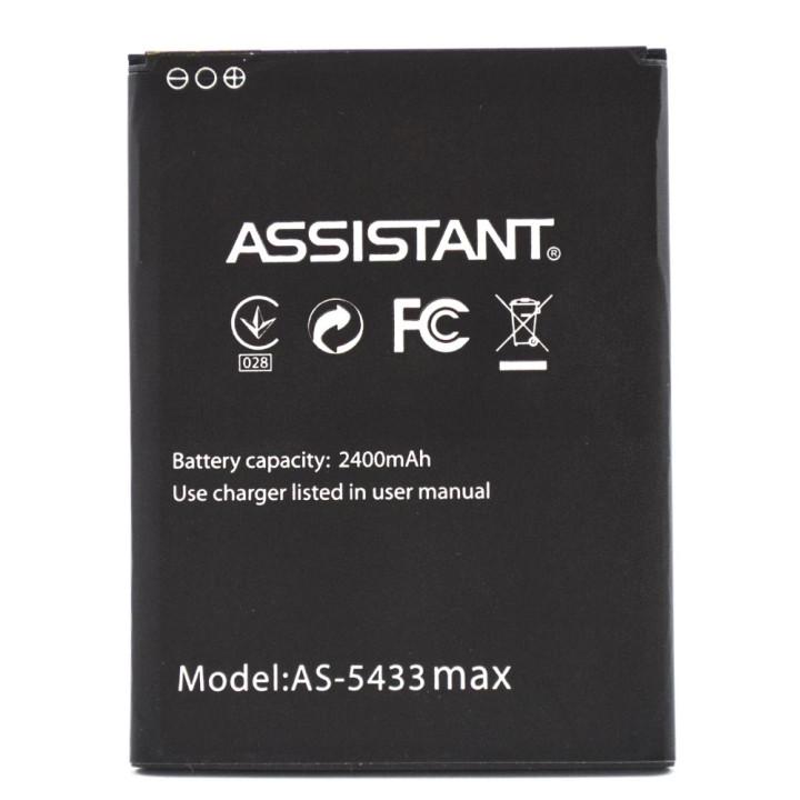 Аккумулятор для Assistant AS-5433 Max, 2400 мAh (Original)