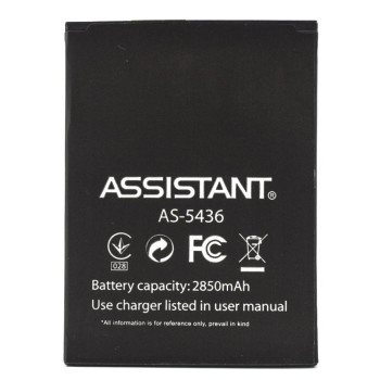 Акумулятор для Assistant AS-5436, 2850 мAh (Original)