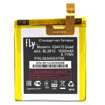 Аккумулятор BL3810 для Fly IQ4415 Quad 1650мAh