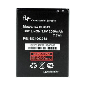 Аккумулятор BL3819 для Fly IQ4514, IQ4514 Quad (Original) 2000мAh