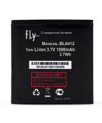 Аккумулятор BL6412 для  Fly IQ434 Era Nano 5, E158 (ORIGINAL) 1000mAh