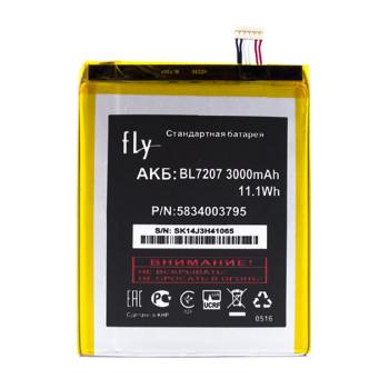 Аккумулятор BL7207 для Fly iQ4511, Fly iQ4511 Octa, 3000mAh