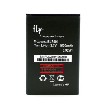 Аккумулятор BL7401 для Fly IQ238 Jazz, 1600мAh (Original)