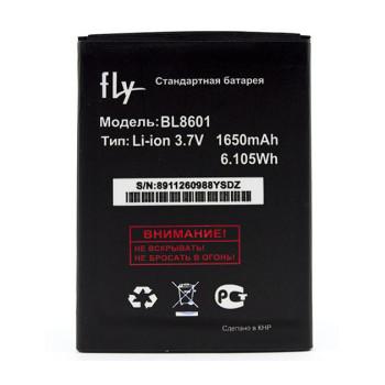 Аккумулятор BL8601 для  Fly IQ4505 Quad ERA Life 7, 1650mAh