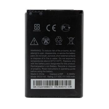 Аккумулятор BG32100 (BA S520) для HTC Desire S, G12, S510e, 1450мAh
