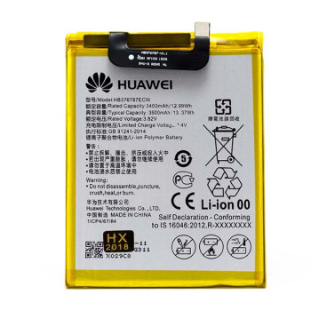 Аккумулятор HB376787ECW для Huawei Honor V8 (ORIGINAL) 3400мAh