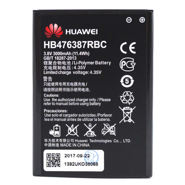 Аккумулятор HB476387RBC для Huawei Honor 3X G750, Honor 3X Pro (Original) 3000мAh