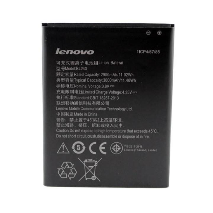 Акумулятор BL243 для Lenovo S8 A7600/A7000 K3 Note/A5860/A5600, 2900мAh