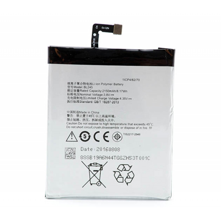 Акумулятор BL245 для Lenovo S60 (Original) 2150mAh
