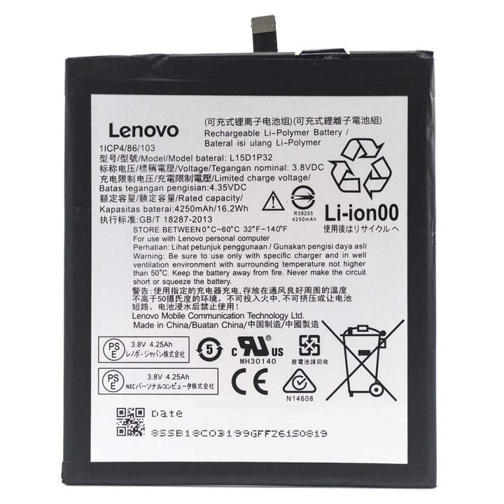 Аккумулятор L15D1P32 для Lenovo Phab PB1-750, PB1-750M, PB1-750N (Original) 4250 мAh