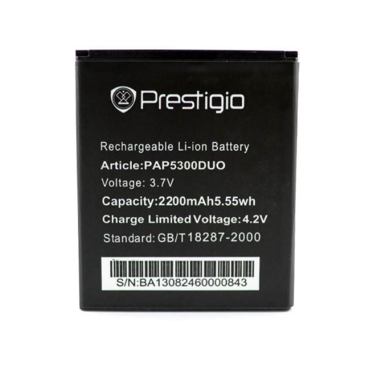 Аккумулятор PAP5300 для Prestigio MultiPhone 5300 DUO, 2200мAh