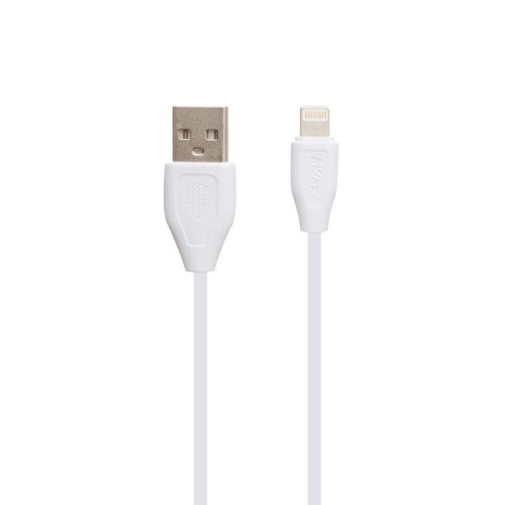 DATA-кабель Inkax CK-21 lightning 0.2м White