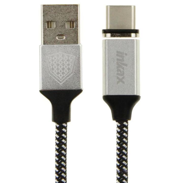DATA-кабель Inkax CK-50 Magnetic Type-C 1м Black