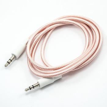 Aux кабель 1М з тканинним обплетенням