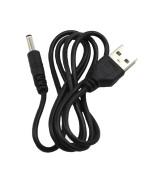 Кабель USB - DC 3.5мм для зарядных устройств, модемов, ТВ приставок, роутеров, Black